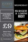 Burger and a Drink Night